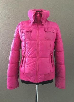 Куртка на синтепоне, яркая, молодёжная, демисезонная, m-l