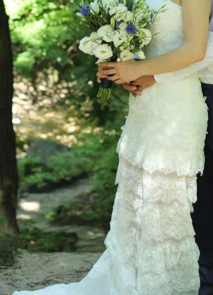 Свадебное платье от julia miren dress