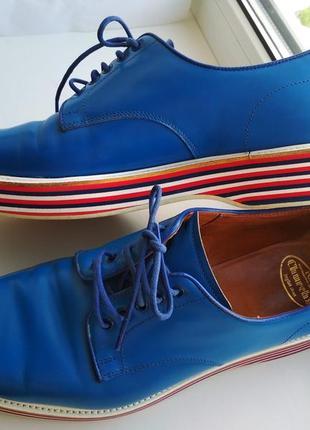 Стильные мужские туфли church's derbies leyton, р. 40.5, 26.5 см