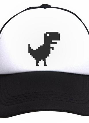 Кепка с динозавром t-rex
