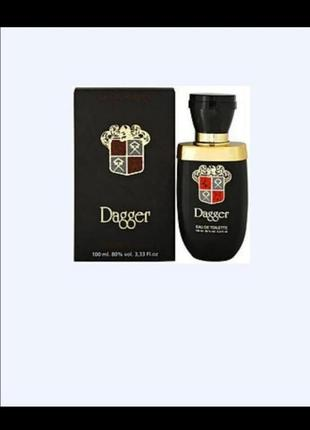 Dagger edt 100 ml туалетная вода мужская (оригинал подлинник франция)