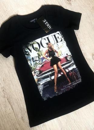 Новая женская футболка vogue