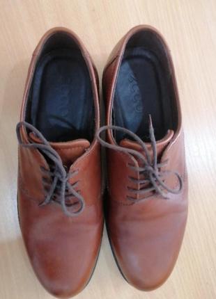 Туфли мужские, ессо