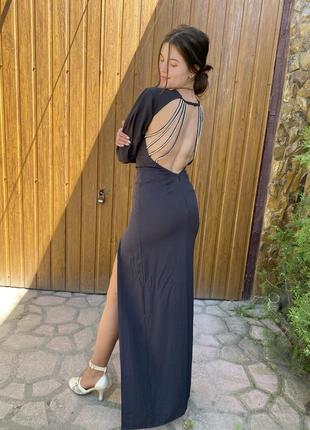 Шикарное вечернее платье на выпускной/свадьбу