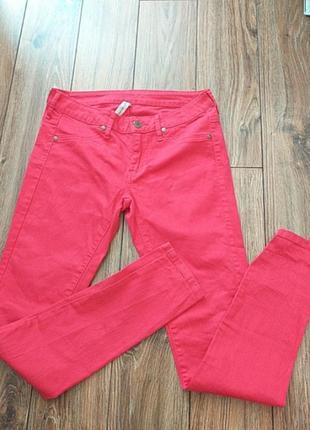 Джинсы штаны  mango , 38 размер, коттон+еластан