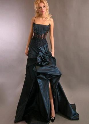 Дизайнерское вечерние платье oksana mukha