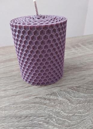 Свічки із 100% бджолиного воску🐝, ручна робота.