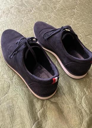 Замшевые туфли zara, 41 р