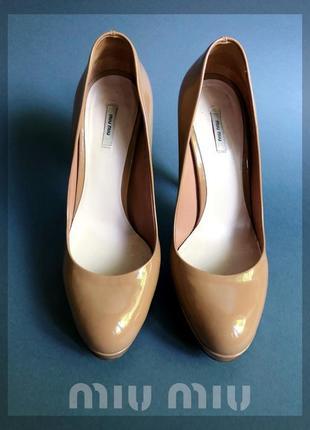 Туфли классика miumiu