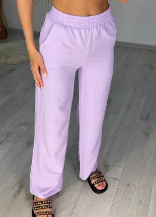 Женские легкие повседневные  брюки