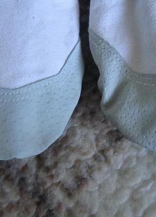 Белые балетки для танцев р.353 фото