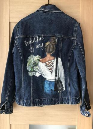 Джинсовая куртка,джинсовка1 фото