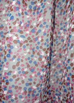Платье миди красивое разноцветное лёгкое фиолетовое2 фото