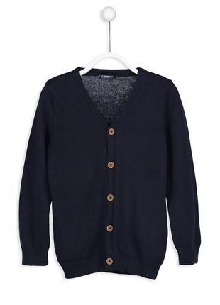 3 - 4 г 98-104 см кардиган свитер джемпер хлопок с треугольным вырезом lc waikiki вайкики