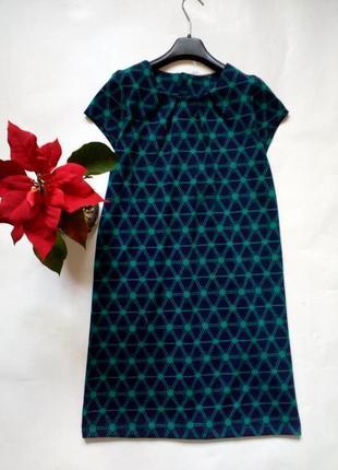 Базовое платье трикотаж средней плотности