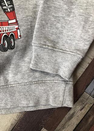 Теплый реглан , кофта с капюшоном , толстовка для мальчика palomino 7/8 лет3 фото