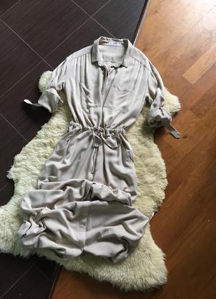 Шикарное платье в пол mango