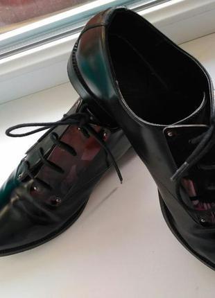 Туфли оксфорды stradivarius