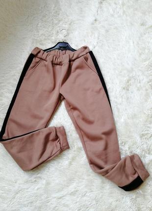 Тёплые штаны на флисе