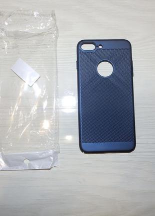 Дышащий чехол-накладка для apple iphone 7 plus / iphone 8 plus