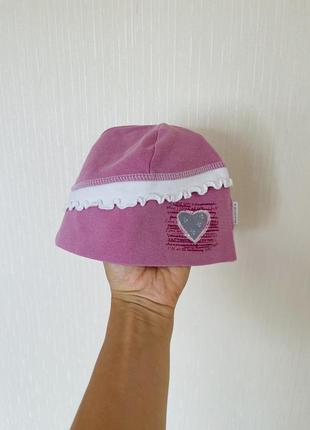 Хлопковая шапочка 46-48 на лето, весну