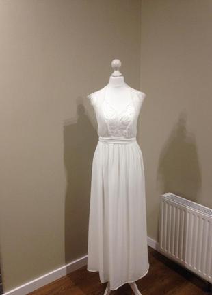 Свадебное платье кружево платье макси платье в пол