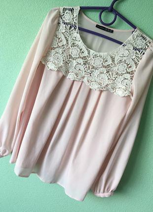 Блуза atmosphere / рубашка шифоновая