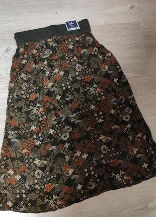 Стильная юбка,100%вискоза