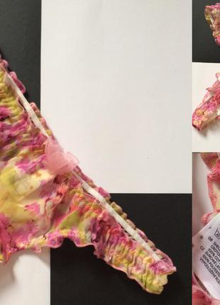Цветочные трусики h&m