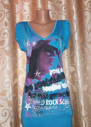Красивая женская футболка-туника bay
