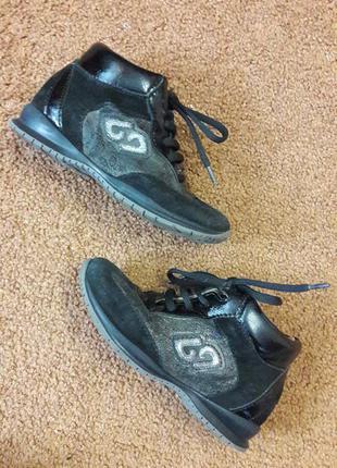 Кроссовки ботинки туфли кожа