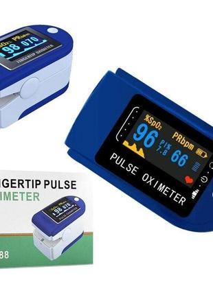 Пульсоксиметр fingertip pulse oximeter (пульсометр оксиметр)