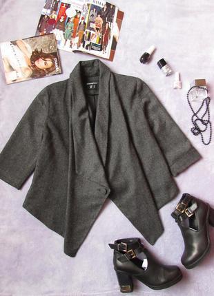 Пиджак интересного кроя ✅ жакет ✅ ассиметрия ✅