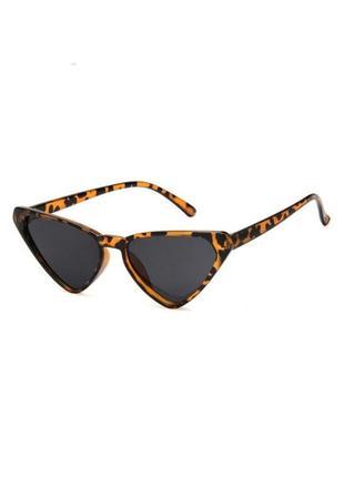 🔗леопардовые солнцезащитные очки кошачьи очки черные очки красные очки лео