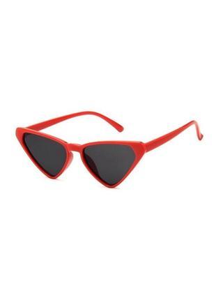 🔗красные солнцезащитные очки кошачьи очки черные очки красные очки лео