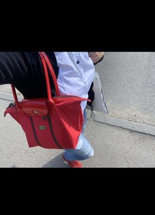 Брендовая стильная яркая  сумочка шоппер сумка