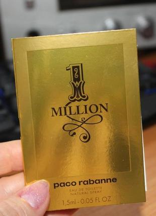 Парфюм paco rabanne 1 million parfum (оригинал)