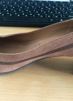 Кожанные туфельки, 37 размер, универсальный цвет