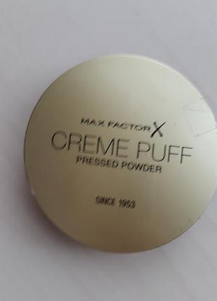 Пудра creme puff max factor