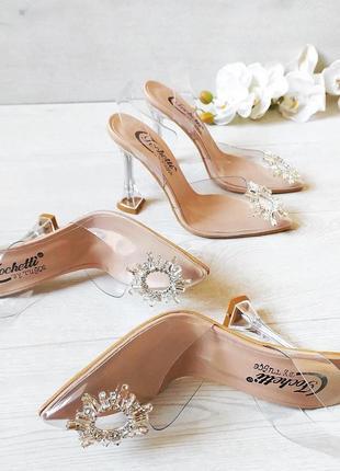 Шикарные силиконовые туфли