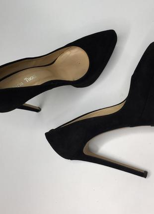 Замшевые туфли maria tocci