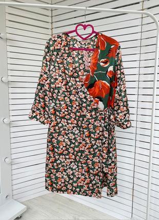 Платье в цветочный принт от tu
