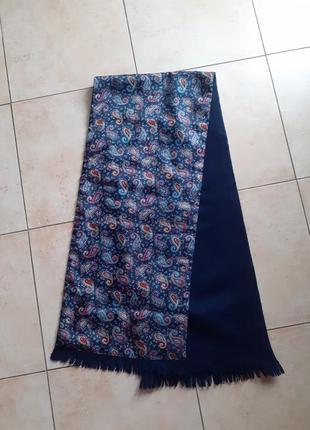 Шарф натуральный,шелковый шарф