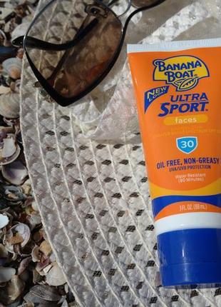 Солнцезащитный лосьон крем для лица banana boat  ultra sport 88 мл
