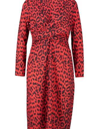 Яркое роковое платье в леопардовий принт ❣️3 фото