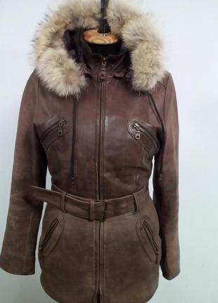 Куртка женская из кожи