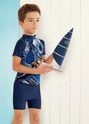 Солнцезащитный пляжный костюм для мальчика batman германия