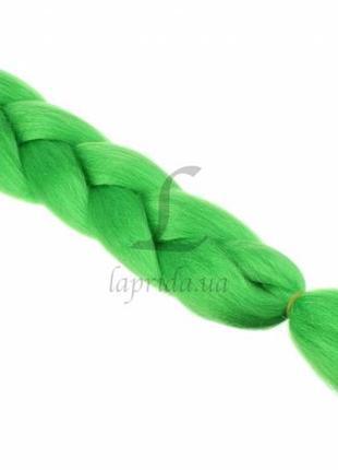 Канекалон 1.2м, 100 гр светло-зеленый синтетическое моноволокно а26