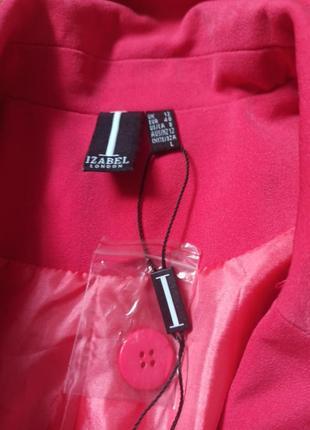 Пиджак розовый шикарный2 фото
