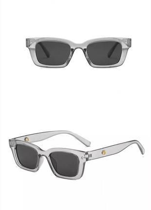 Трендовые прямоугольные солнцезащитные очки